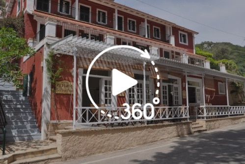 Zefiros Hotel Paleokastritsa virtual tour