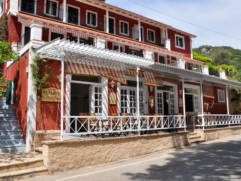 Zefiros Hotel Front